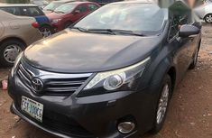 Used Bought New Toyota Avensis 2013 Black for sale