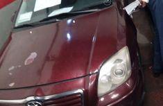 Toyota Avensis 2003 Red for sale