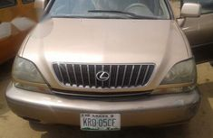 Nigerian Used Lexus RX300 2001 Gold For Sale