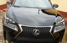 Extremely Clean Lexus NX 200T 2017 Black for sale