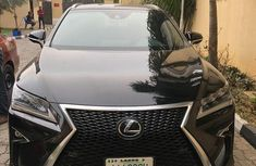 Lexus Rx350 2018 Black for sale