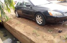 Clean Honda Accord 2003 Black for sale