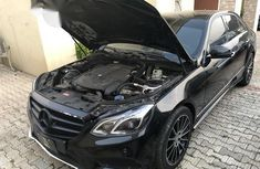 Foreign Used Mercedes-Benz E350 2013 Black for sale
