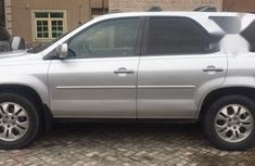 Clean Nigerian Used Acura MDX 2003 Silver For Sale