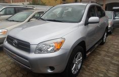 Clean Direct Toyota RAV4  2006 Silver For Sale