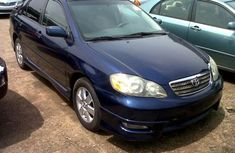 Toyota Corolla S 2006 Blue For Sale