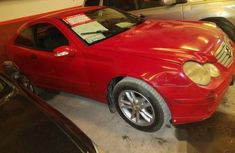 Mercedes-Benz C180 2002 Red for sale