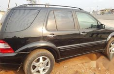 Mercedes-benz Ml500 2004 Black for sale