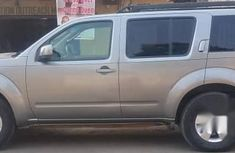 Neatly Used Nissan Pathfinder 2008 Gray for sale