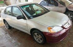 Honda Civic 2002 Silver for sale