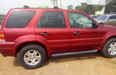 Ford Escape 2007 Red For Sale