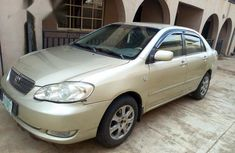 Clean Toyota Corolla 2006 Gold for sale