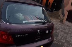 Clean Peugeot 307 2008 Purple for sale