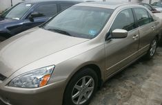 Honda Accord EX 2004 Gold For Sale