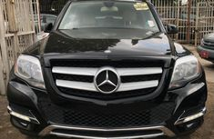 Foreign used Mercedes Benz GLK350 black