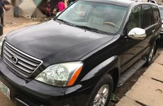 Lexus Gx470 2009 Black  for sale