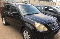 Clean Honda CR-V 2006 Black for sale