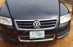 Volkswagen Touareg 2006 Black for sale