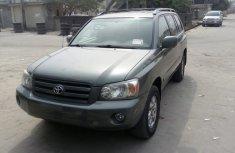 2005 Toyota Highlander Grey for sale