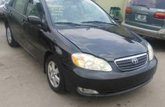 Toyota Corolla 2002 Black for sale