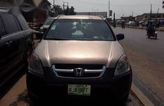 Clean Honda CR-V 2002 Gold for sale
