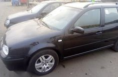 Clean Volkswagen Golf 2002 Black for sale