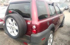Land Rover Freelander 2003 Red for sale