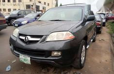 Clean Acura MDX 2005 Gray for sale