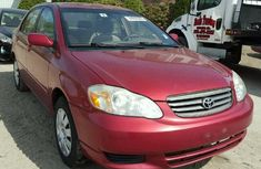 Toyota corolla Red for sale