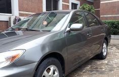 Clean Toyota Camry 2004 Gray for sale