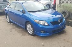 Toyota Corolla S 2010 Blue for sale