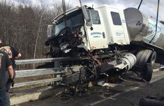 What you must do when a tanker is involved in an accident