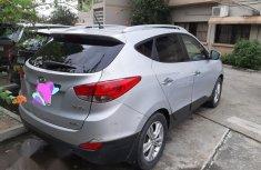 Almost New Hyundai Ix35 2013 Silver for sale