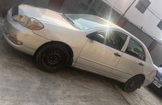 Neat Toyota Corolla 2006 Silver for sale