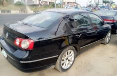 Clean Vlkswageen Passat 2006 Black With Sound Engine for sale