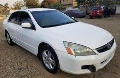 Honda Accord 2007 White for sale