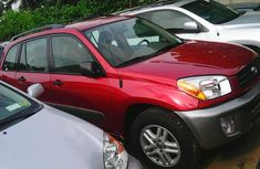 Foreign Used Toyota Rav4 2003 Red For Sale