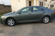 Clean Toyota Camry 2013 Green for sale