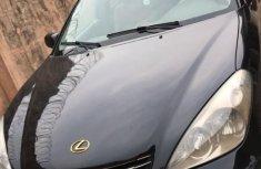 Neat Lexus ES 300 2002 Black for sale