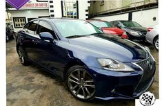 Lexus Is250 2008 Facelifted To A 2015 Blue for sale