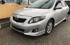 Toyota Corolla Sport 2010 Silver for sale