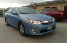 Tokunbo Toyota Camry 2014 Blue for sale