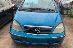 Mercedes Benz A160 2001 Blue for sale