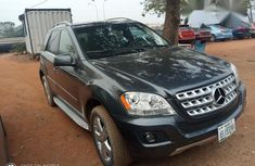 Mercedes-Benz M Class ML350 2011 Black for sale
