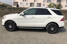 Tokunbo Mercedes Benz ML350 2014 White for sale