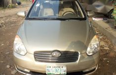 Hyundai Accent 2009 Gold for sale