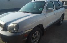Hyundai Santa Fe 2004 White for sale