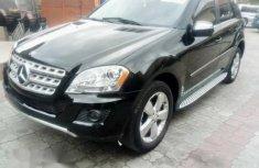 Mercedes Benz ML 350 2010 Black for sale