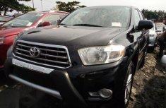 Toyota Highlander 2008 Black for sale