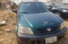 Clean Honda CR-V 2003 Green for sale